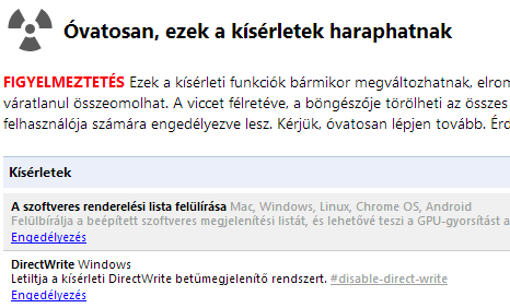 Chrome_DirectWrite